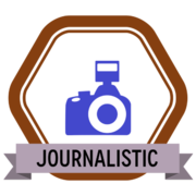 Badge Journalistic