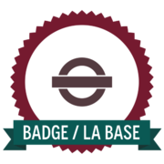 Badge_La base